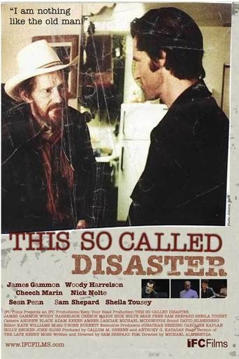 Poster of This So-Called Disaster: Sam Shepard Directs