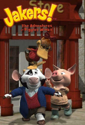 Poster of Jakers! The Adventures of Piggley Winks
