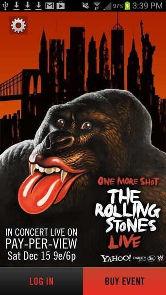 Poster of The Rolling Stones: Live at Newark Prudential Center