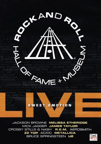 Poster of Rock and Roll Hall of Fame Live: Sweet Emotion