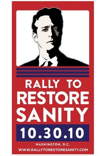 Poster of The Rally to Restore Sanity and/or Fear