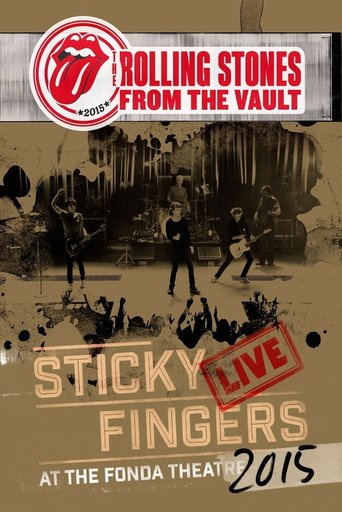 Poster of The Rolling Stones - From The Vault - Sticky Fingers Live At The Fonda Theatre 2015